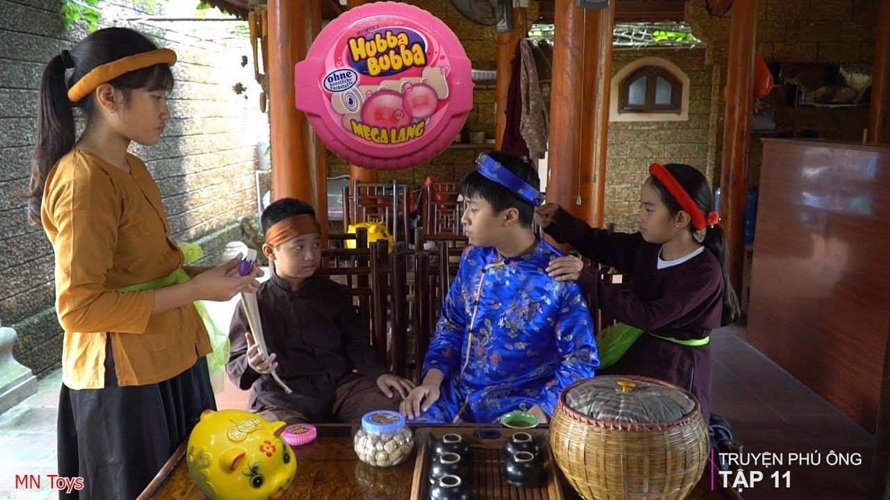 Truyện Phú Ông - Người Hầu, Lợn Đất và Kẹo Hubba Bubba - Tập 11 - MN Toys