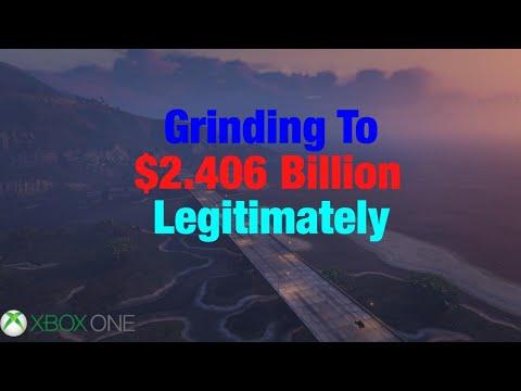 GTA Online Grinding To $2.406 Billion Legitimately (Xbox One)