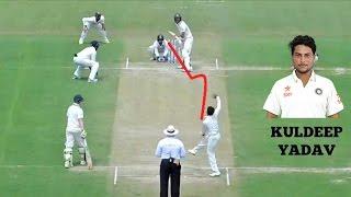 Kuldeep Yadav Magical Spin Deliveries ● Best Googly Balls in cricket