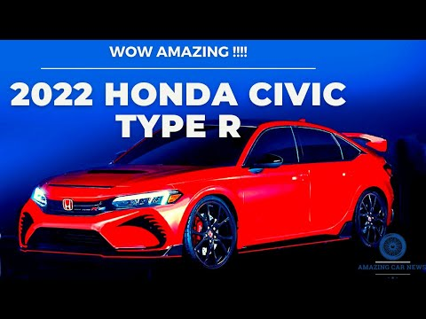 WOW AMAZING !!!! 2022 Honda Civic Type R AWD Review Interior & Exterior