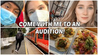 TRAVELLING TO LONDON FOR MY FIRST MUSICAL THEATRE AUDITION POST LOCKDOWN...VLOG | Georgie Ashford