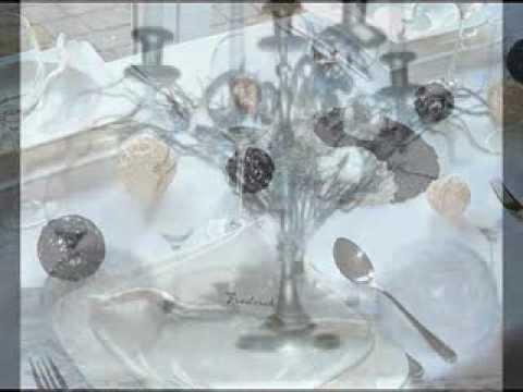 Hochzeitsdeko und mehr mustertische von tischdeko online for Youtube hochzeitsdeko