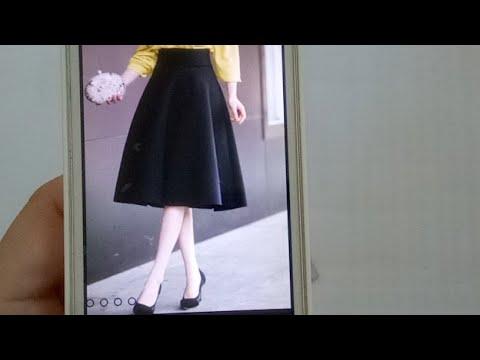 335_thiết Kế Chân váy Váy 360 lưng Rơi