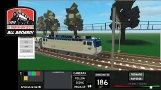 TrainFan100 Roblox Train games