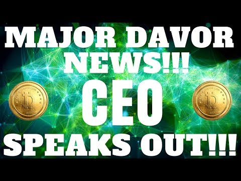 Davor Coin CEO  Speaks Out