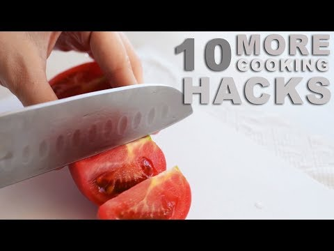 10 FOOD HACKS YES THATS RIGHT 10! FOOD! HACKS!