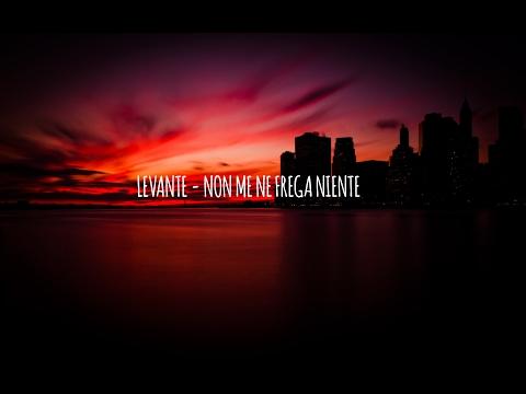 LEVANTE - NON ME NE FREGA NIENTE (TESTO)