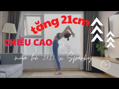 TĂNG 21CM TRONG HÈ 2021 - tăng chiều cao nam nữ - Bài 01 series Tăng Chiều Cao 2021