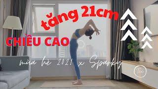 TĂNG 21CM TRONG HÈ 2021 - tăng chiều cao nam nữ - Bài 01 series Tăng Chiều Cao 2021 screenshot 1