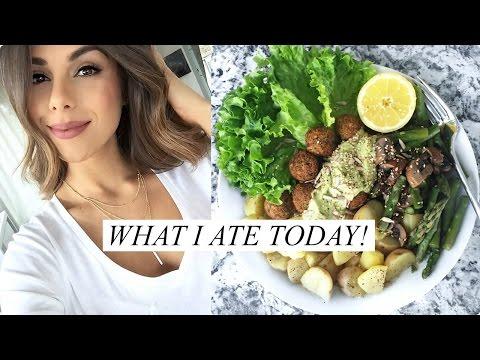 WHAT I ATE TODAY! Healthy & Easy Food Ideas (Vegan) | Annie Jaffrey
