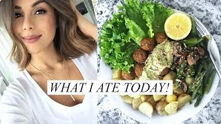 WHAT I ATE TODAY! Healthy & Easy Food Ideas (Vegan) | Annie Jaffrey