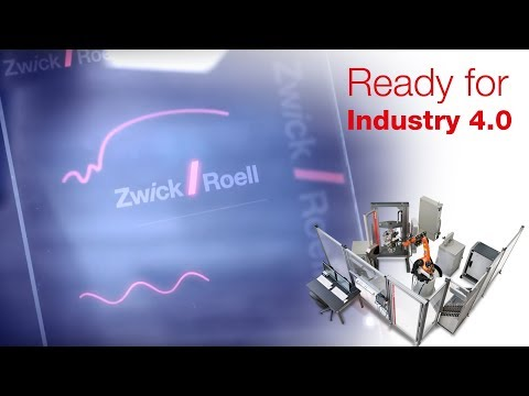 Ready for Industry 4.0 with Zwick Roell