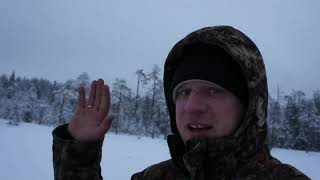 Зимняя рыбалка в феврале Часть 1