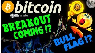 🌟Bitcoin breakout coming!?🌟bitcoin litecoin price prediction, analysis, news, trading