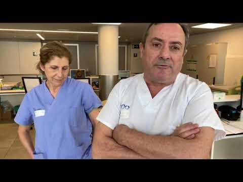 Coronavirus. Reportaje Servicio de Medicina Interna del CHUO 1 4 20