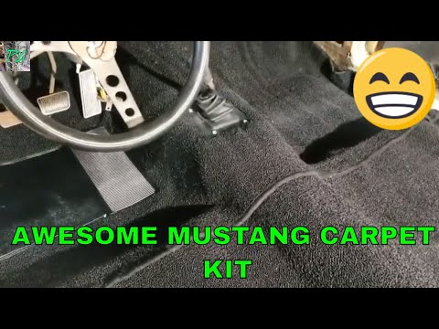 Installing ACC Carpet Kit In The Project 66 Mustang