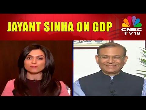 Jayant Sinha on GDP Growth   CNBC TV18
