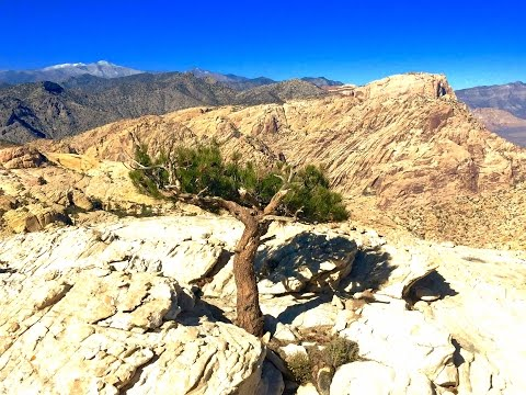 Red Rock Canyon - Secret summit and destination hike!