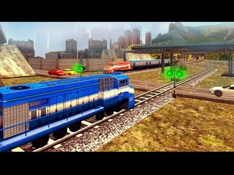 Train Racing Games 3D 2 Player - Railway Station Train Simulator | Bambi Tv  - Android Gameplay Fhd