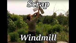 Sculpture - The Rebar Windmill (ft. willis)