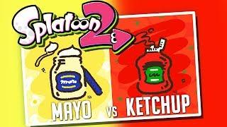 Mayo VS Ketchup! | Splatoon 2 Splatfest