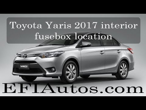 toyota yaris 2016 2017 interior fusebox location youtube rh youtube com toyota yaris fuse box location 2008 toyota yaris fuse box location 2012