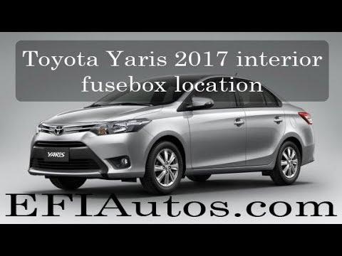 Fuse Box On Toyota Yaris technical wiring diagram