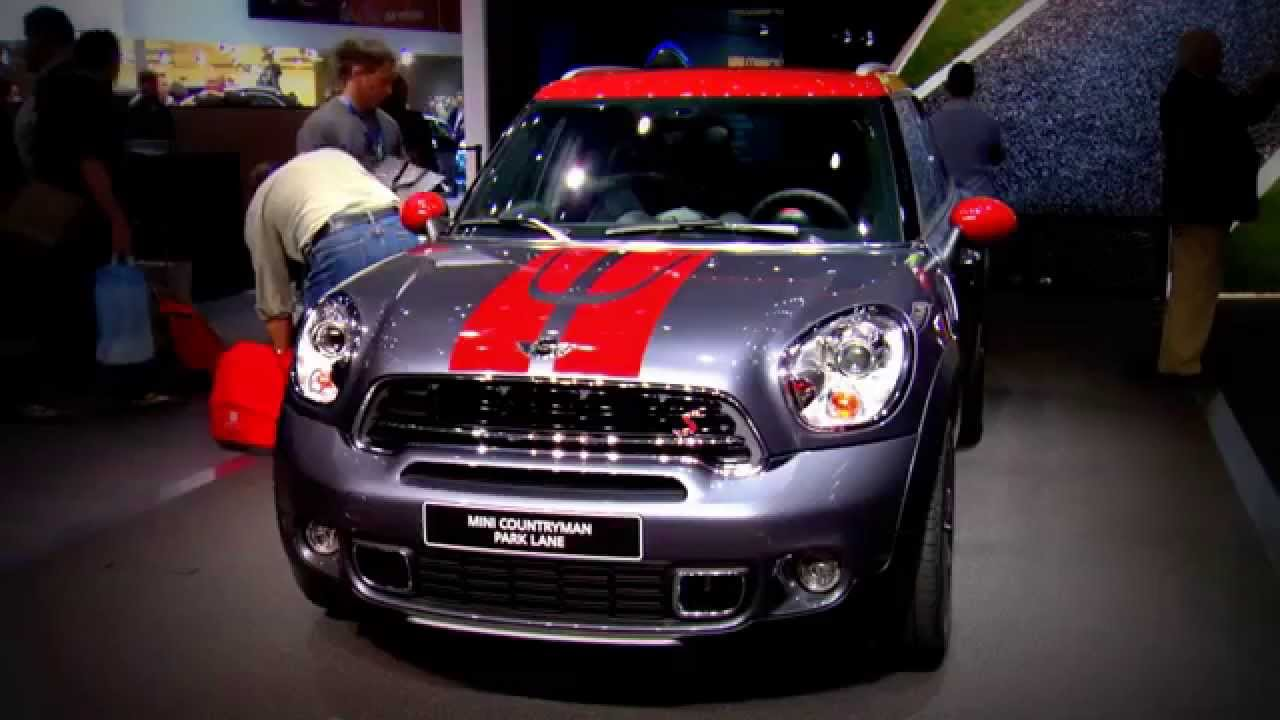 2015 Mini Countryman Park Lane Geneva Motor Show Youtube