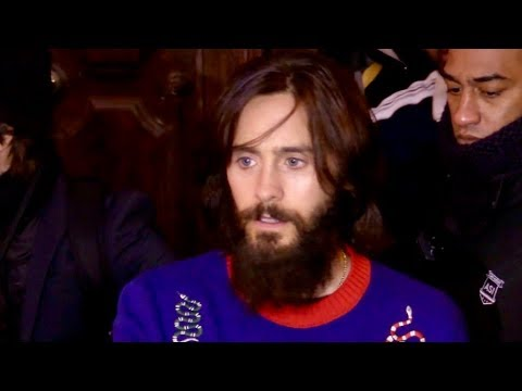 EXCLUSIVE: Jared Leto and Thirty second to mars band at C a Vous tv show in Paris
