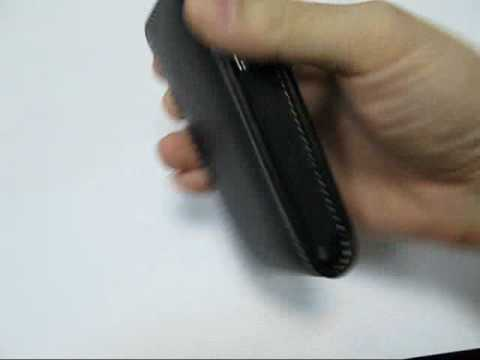 PDair Leather Case for Samsung SGH-L700 v Pouch Type (Black)