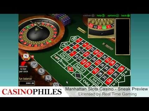 Manhattan Slots Casino Sneak Preview - Casinophiles.com