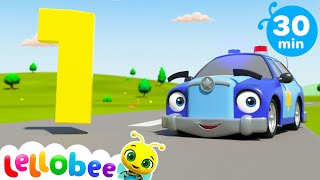 Counting Vehicles + More Machine Songs For Kids | Little Baby Bum