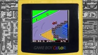 Gameboy Colour TOCA Touring Car Championship