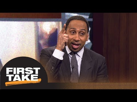 Stephen A. Smith celebrates Dwyane Wade