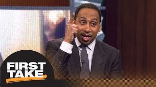 Stephen A. Smith celebrates Dwyane Wade's return to Heat | First Take | ESPN