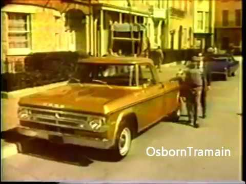 1971 Dodge D200 Pickup Truck Commercial   Features Al Molinaro