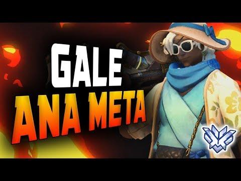 Ana Dominating Season 12- Gale! ANA META! [ OVERWATCH SEASON 12 TOP 500 ] thumbnail