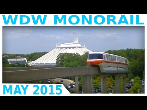 Walt Disney World Monorail System 2015