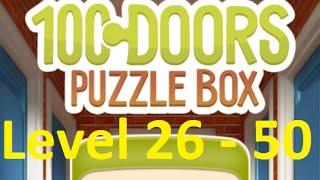 100 doors puzzle box - 100 Дверей Головоломки Level 26 - 50 Walkthrough прохождение