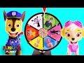 Vampirina & Paw Patrol Skye & Chase Toys Play Mega Spinning Wheel Game