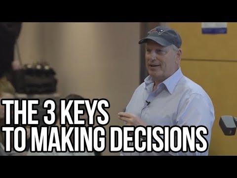 The 3 Keys to Making Decisions | David Cote