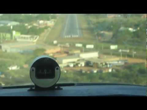 Landing in Northern Brazil - Balsas Maranhão