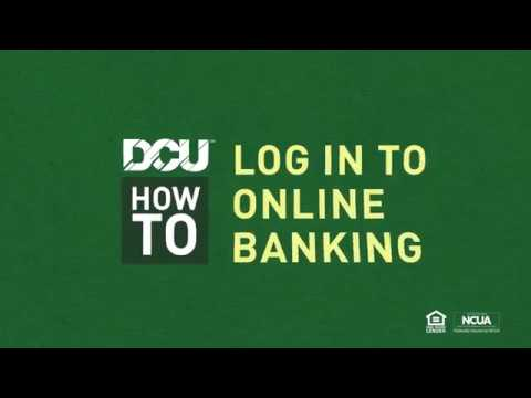 DCU - Digital Federal Credit Union: How To Log In To Online Banking For The First Time