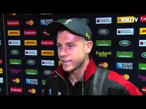 Ymateb Gareth Davies ar ol curo Lloegr | WRU TV