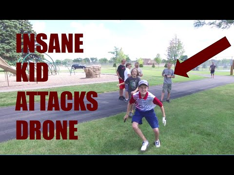 TROLLING POKEMON GO KIDS WITH DRONE!!!!