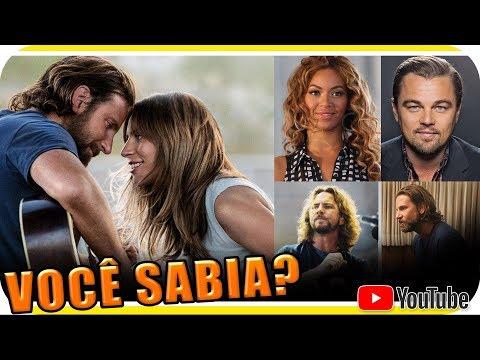 CURIOSIDADES de NASCE UMA ESTRELA - Lady Gaga Bradley Cooper Beyonce e mais - Voce虃 Sabia?