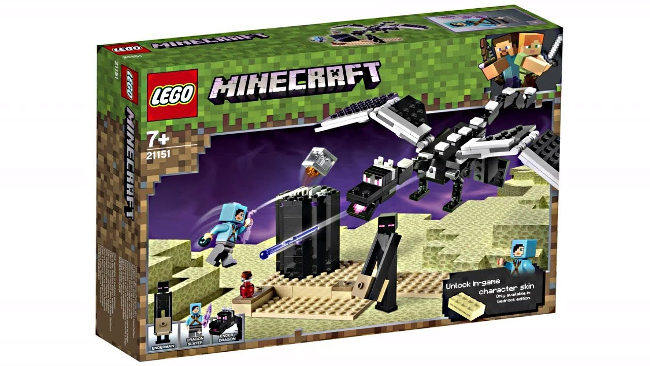 lego minecraft 2019 sets the end but not the end youtube. Black Bedroom Furniture Sets. Home Design Ideas