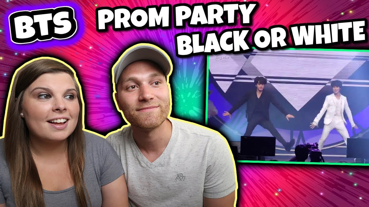 BTS Jimin & Jungkook 'Black or White' Michael Jackson Dance Cover Reaction!  Prom Party Festa 2018