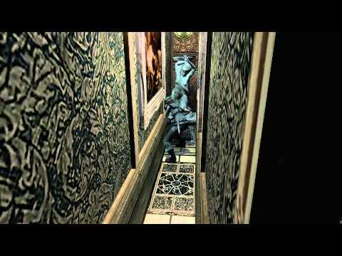 Resident Evil Statue Room Walls