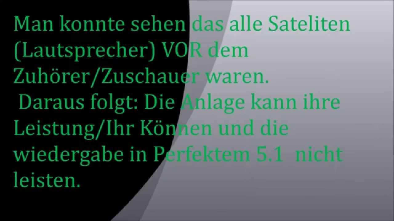 5 1 Soundsystem Richtig Aufstellen Tipps Und Tricks Deutsch